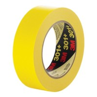 Scotch Masking Tape 301+ Performance 36mm x 55m Yellow