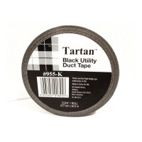 Scotch Tartan Utility Duct Tape 955K 48x50M Black PVC