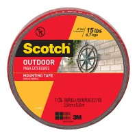 Scotch Outdoor Mounting Tape 411-LONG 25mm x 11.4m