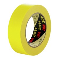 Scotch Performance Masking Tape 301+ 48mm x 55m Yellow