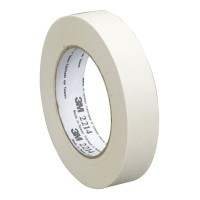 3M General Purpose Masking Tape 2214 18mm x 50m White