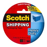 Scotch Heavy Duty Packaging Tape 3850 48mm x 50m Clear