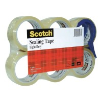 Scotch Sealing Tape FPS-6 48mm x 50m Clear 6 pack with Dispenser