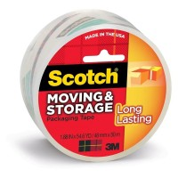 Scotch Packaging Tape 3650 Storage Super Clear 48mm x 50m
