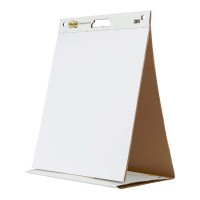 Post-it Tabletop Easel Pad 563 508mm x 584mm White 20 Sheets - 6 Pads
