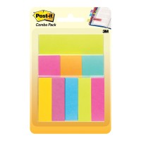 Post-it Notes and Page Markers 670-COMBO Assorted Combo Pack