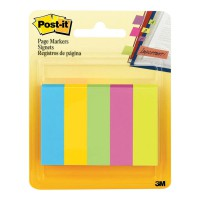 Post-it Pagemarkers 670-5AU Jaipur Collection 13x50mm 100 sheet pads P