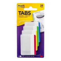 Post-it Durable Tabs 686F-1 50x38mm 24 Pack