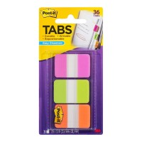 Post-it Durable Tabs 686-PGOT Pink Green Orange 25x38mm