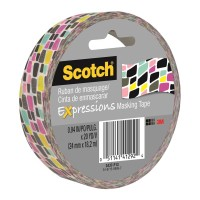 Scotch Expressions Masking Tape 3437-P13 24mm x 18m Graffiti
