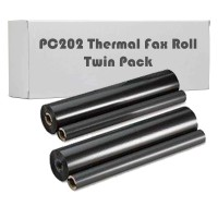 Compatible Brother PC202RF Fax Roll Twinpack