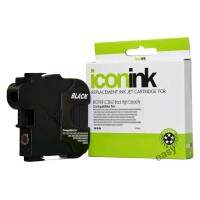 Compatible Brother LC38BK Black Ink