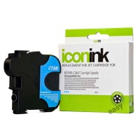 Compatible Brother LC67C Cyan Ink Cartridge