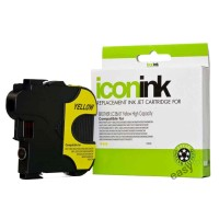Compatible Brother LC67Y Yellow Ink Cartridge