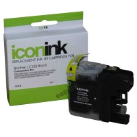 Compatible Brother LC133BK Black Ink Cartridge