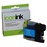 Compatible Brother LC133C Cyan Ink Cartridge