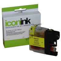Compatible Brother LC131Y Yellow Ink Cartridge