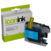 Compatible Brother LC135XLC Cyan Ink Cartridge