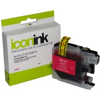 Compatible Brother LC135XLM Magenta Ink Cartridge