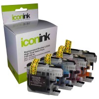 Compatible Brother LC233/LC231 Ink Cartridge Value Pack