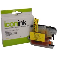 Compatible Brother LC231Y Yellow Ink Cartridge