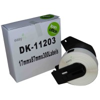 Compatible Brother DK11203 17mm x 87mm Labels
