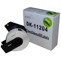 Compatible Brother DK11204 17mm x 54mm Labels