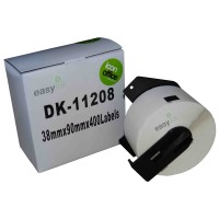 Compatible Brother DK11208 38mm x 90mm Labels