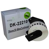 Compatible Brother DK22210 29mm x 30m Continuous Label