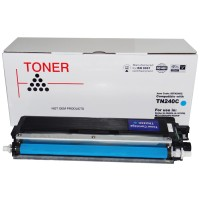 Compatible Brother TN240C Cyan Toner Cartridge