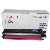 Compatible Brother TN240M Magenta Toner Cartridge
