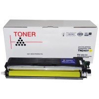 Compatible Brother TN240Y Yellow Toner Cartridge