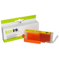 Compatible Canon CLI671XLY Hi-Yield Yellow Ink Cartridge