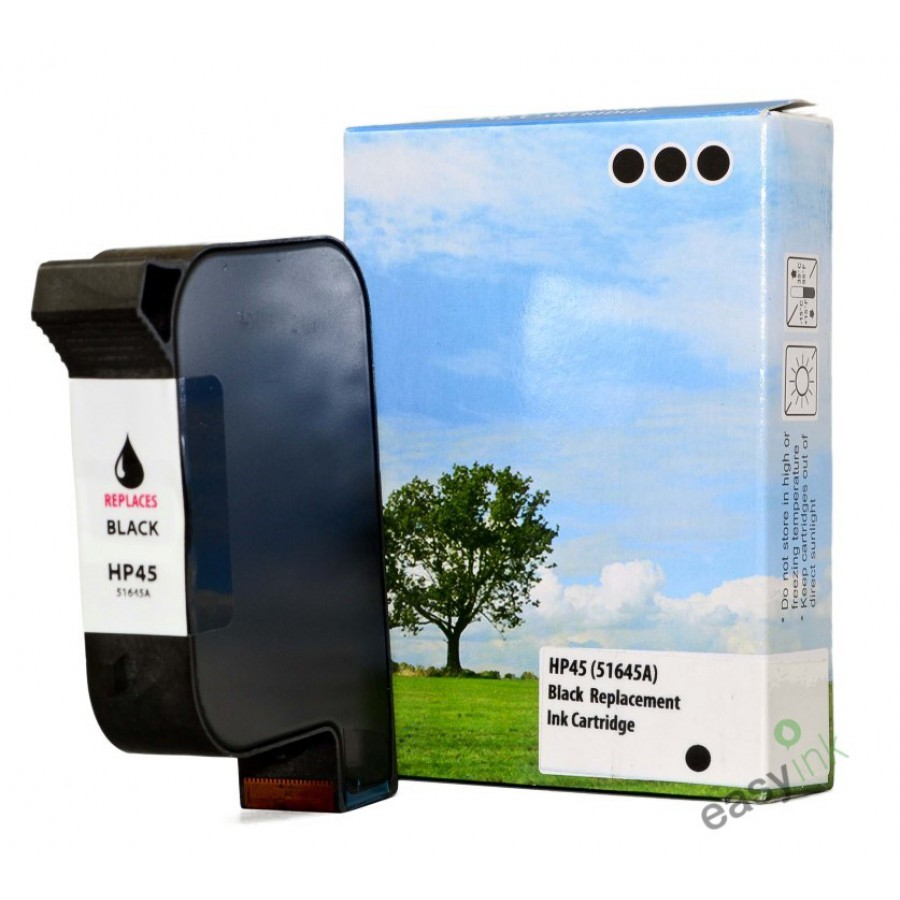 Hp Ink Cartdriges Excellent With Tinta 45 Black Original Simple