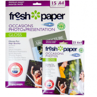 Icon Photo Paper 180gsm A4 + 6x4 Pack
