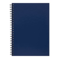 Icon Spiral Notebook A4 Hard Cover Blue 200 pg 3pk