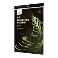 Icon Laminating Pouches A3 Gloss 80mic Pack 25