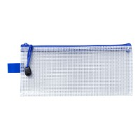 Icon Mesh Bag Pencil Case 230x105mm - 12 Pack