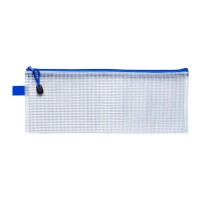 Icon Mesh Bag Pencil Case Oversize 340x135mm - 12 Pack