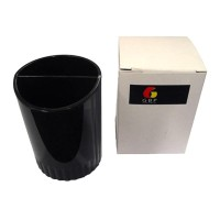 GBP Pencil Cup Round Black