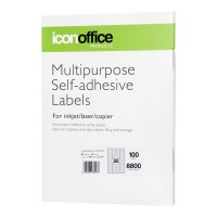 Icon A4 Adhesive Labels Sheet 48 x 12.7 - 88 per page (100 pages)