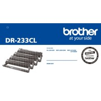 Genuine Brother DR233CL Drum Unit - 4 pack