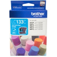 Genuine Brother LC133C Ink Cartridge - Cyan