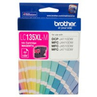Genuine Brother LC135XLM Super High Yield Ink Cartridge - Magenta