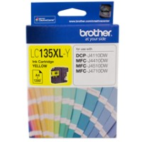 Genuine Brother LC135XLY Super High Yield Ink Cartridge - Yellow