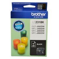Genuine Brother LC231BK Ink Cartridge - Black