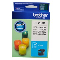 Genuine Brother LC231C Ink Cartridge - Cyan