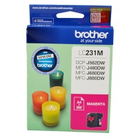 Genuine Brother LC231M Ink Cartridge - Magenta