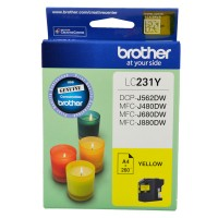 Genuine Brother LC231Y Ink Cartridge - Yellow