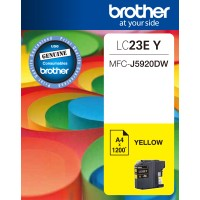 Genuine Brother LC23eY Ink Cartridge - Yellow